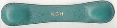 The bookmark, which was seized by police.