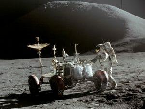 NASA photo from the moon.